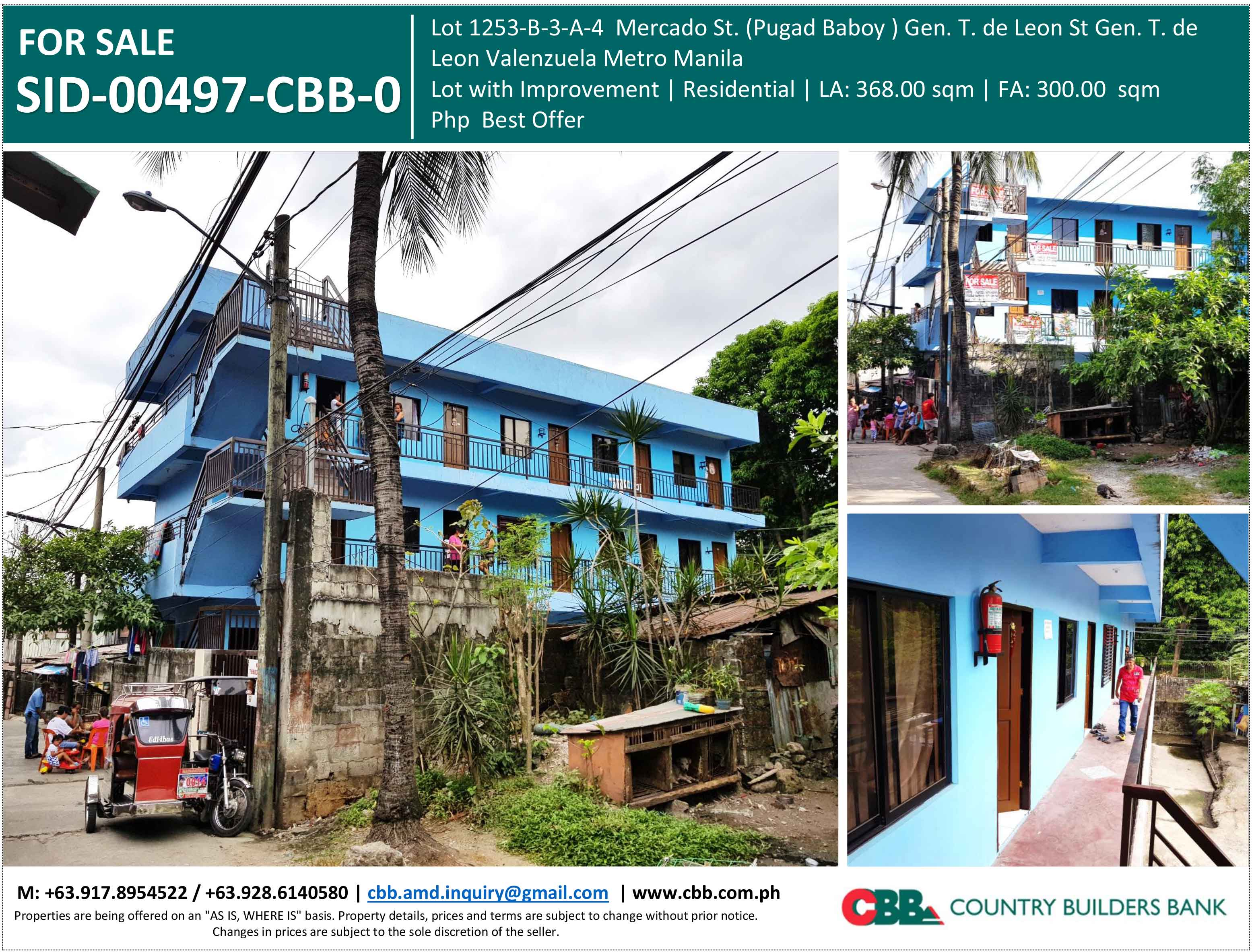 Properties for Sale | Country Builders Bank Inc